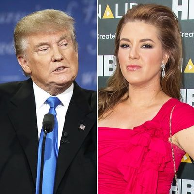 Donald Trump: Former Miss Universe Alicia Machado 'Gained a Massive Amount of Weight'
