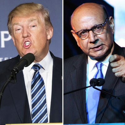 Donald Trump Doubles Down on Insensitive Remarks About the Khan Family