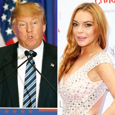 Donald Trump on Lindsay Lohan in 2004: 'Deeply Troubled' Women Are the 'Best in Bed'