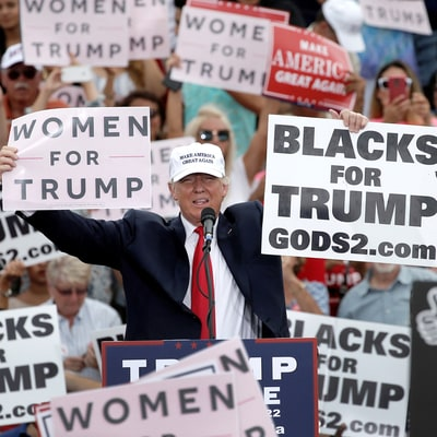 The Racism Behind Trump's 'Rigged Election' Talk
