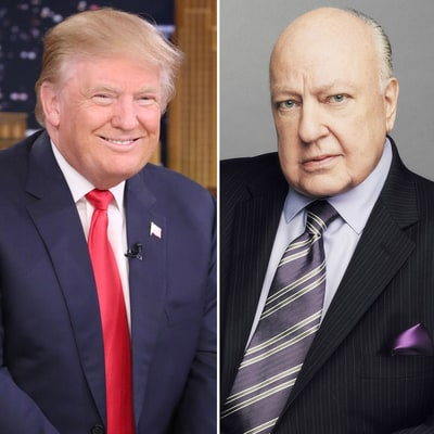 Donald Trump Calls Fox News' Roger Ailes a 'Very, Very Good Person' Amid Sexual Harassment Scandal