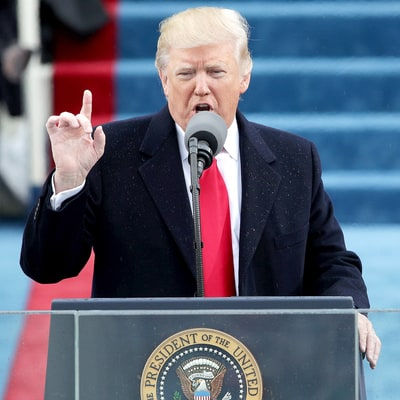 Donald Trump Promises to Put 'America First' in Inauguration Speech: Watch