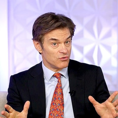 Dr. Oz Shares His 5 Tips for How to Maintain Your New Year's Resolutions: Watch the Exclusive Video