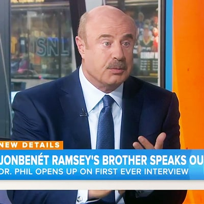 Dr. Phil Speaks Out About Interview With JonBenet Ramsey's 'Socially Awkward' Brother Burke Ramsey