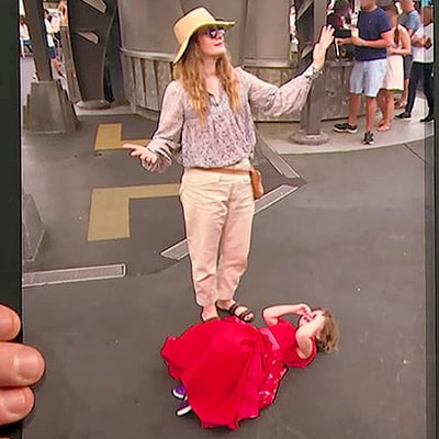 Drew Barrymore Shares Photos of Daughter Olive Having a Complete Meltdown at Disney