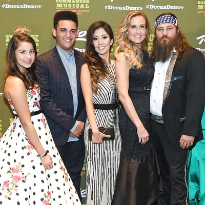 Duck Dynasty's Willie Robertson Walks Daughter Rebecca Lo Robertson Down the Aisle at Her Wedding