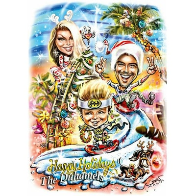 2016 Celebrity Holiday Cards