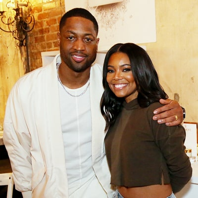 Gabrielle Union Shows Off Taut Tummy and Glowing Skin With Husband Dwyane Wade