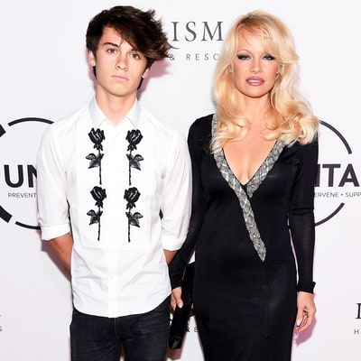 Pamela Anderson Tells Youngest Son Dylan Not to Use 'Those Stupid' Dating Apps