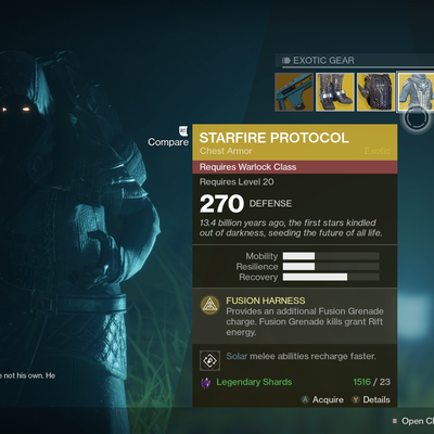 'Destiny 2': Where's Xur and What's He Selling (November 24th)?