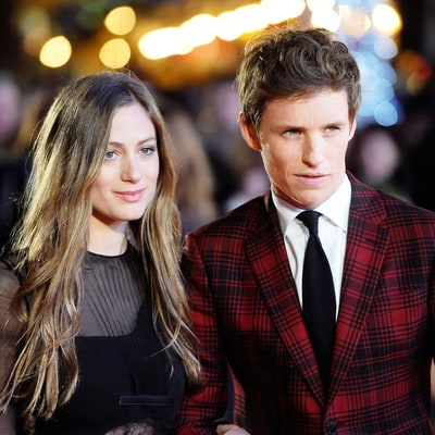 How to Dress as a Couple for the Holidays, Courtesy of Eddie Redmayne and Hannah Bagshawe