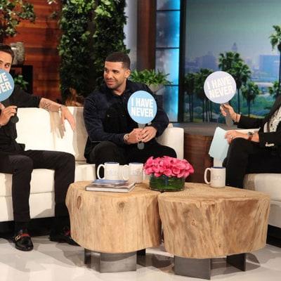 Jared Leto, Drake Play 'Never Have I Ever' on 'Ellen': Watch!