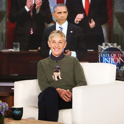 Ellen DeGeneres Pays Tribute to President Barack Obama on His Last Day in the White House