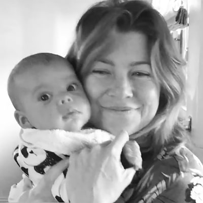 Ellen Pompeo Is 'Boy Crazy' for Her New Son in Cute Video