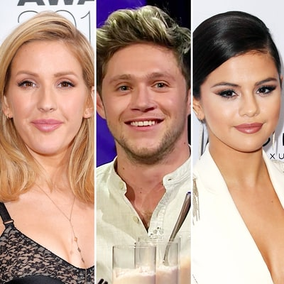 James Corden Forces Niall Horan to Choose Between Exes Ellie Goulding and Selena Gomez