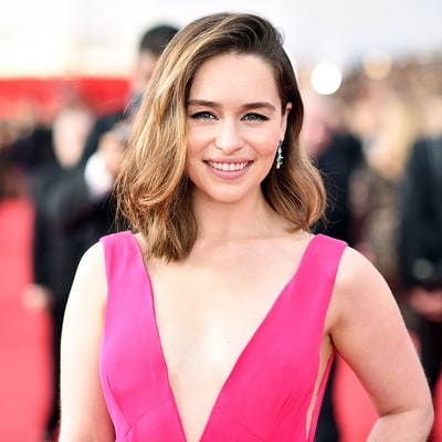 Recreate Emilia Clarke's Voluminous, Textured Hairstyle at the 2016 SAG Awards