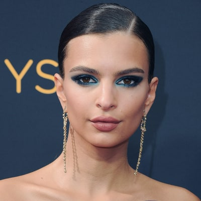 Emily Ratajkowski's Bold Blue Eyes Plus More To-Die-For Beauty From Emmys 2016