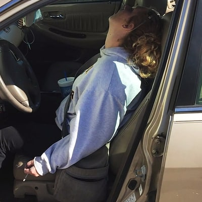 Police Share Chilling Photos of Mom Who Overdosed With Infant in the Car