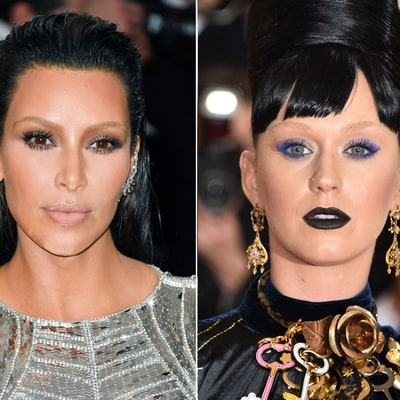 Met Gala 2016: Kim Kardashian, Lily Aldridge and Katy Perry Lightened Their Brows