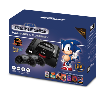 New Sega, Atari Retro Plug-and-Play Consoles Unveiled