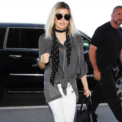 Shop Fergie's Low-Key Striped Style for Much Less