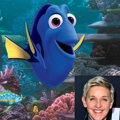 Stars Who Voiced Disney and Pixar Characters