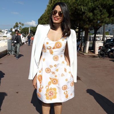 See How to Nail Freida Pinto's Cannes Street Style on a Budget