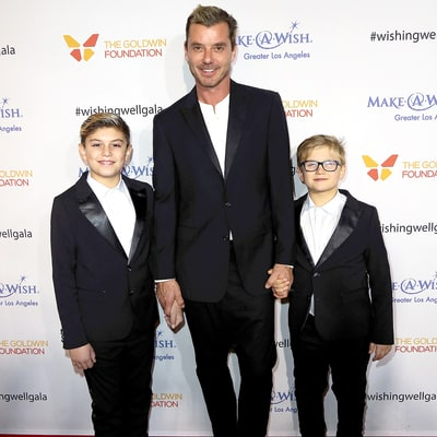 Gavin Rossdale Brings Grown-Up Boys Kingston, Zuma to Red Carpet Event, Dedicates Speech to Them: Pics