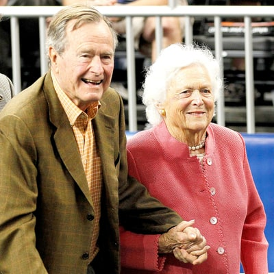 George H.W. Bush, Barbara Bush's Health Improving Following Hospitalization
