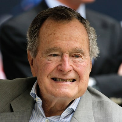 Former President George H.W. Bush Hospitalized in Houston, Texas