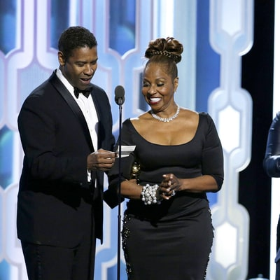 Denzel Washington's Hot Son John David Almost Upstages Dad at Golden Globes 2016