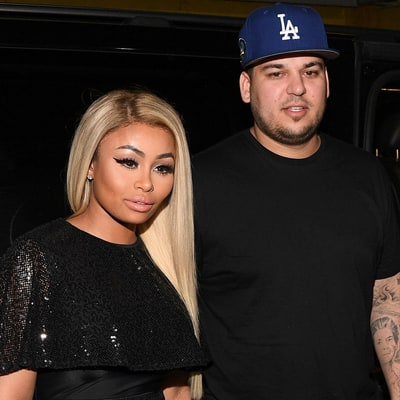 Rob Kardashian Drips With Sweat After First Workout Session with Blac Chyna: Video