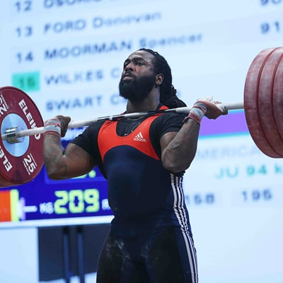 Why America's Best Olympic Weightlifter Is Vegan
