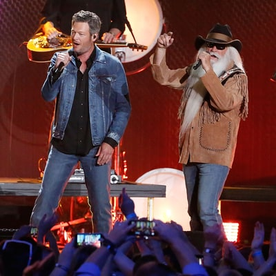 Hear Blake Shelton, Oak Ridge Boys' Loose Performance of 'Elvira'