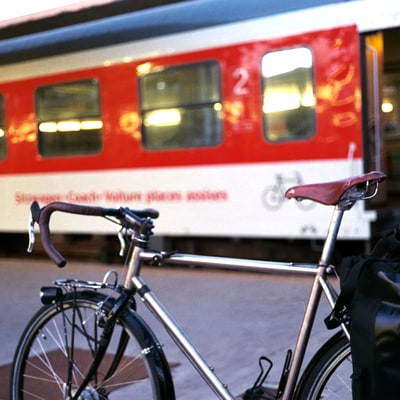 Why the Best Bike Trips Start on a Train