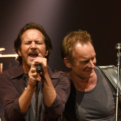 See Eddie Vedder Perform With Peter Gabriel, Sting at Seattle Show
