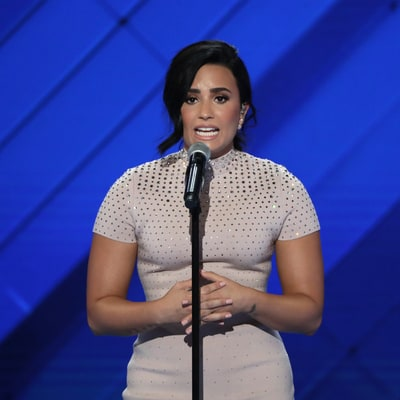 See Demi Lovato's Moving Speech on Mental Illness at DNC