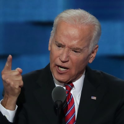 Watch Joe Biden Bring the House Down in Fiery DNC Speech