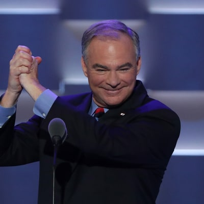 Tim Kaine to Trump at DNC: 'Hey Donald, What Are You Hiding?'