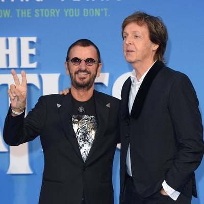 Paul McCartney, Ringo Starr Reunite to Record Together in Studio
