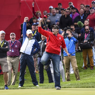 American Heckler at the Ryder Cup Gets Called Out and Turns the Tables on Team Europe