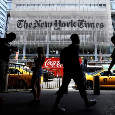 'New York Times' Demands Fox Apologize For Islamic State Segment