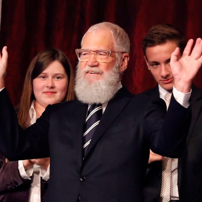 David Letterman Receives Mark Twain Prize at All-Star Ceremony