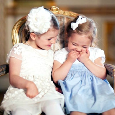 Sweden's Giggling Little Princesses Will Instantly Improve Your Tuesday