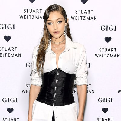 Gigi Hadid Debuts the Stuart Weitzman Bootie She Helped Design