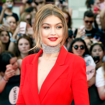 Find Out the Exact Two Products That Created Gigi Hadid's Bold Red Lip From the iHeartRadio Much Music Video Awards 2016