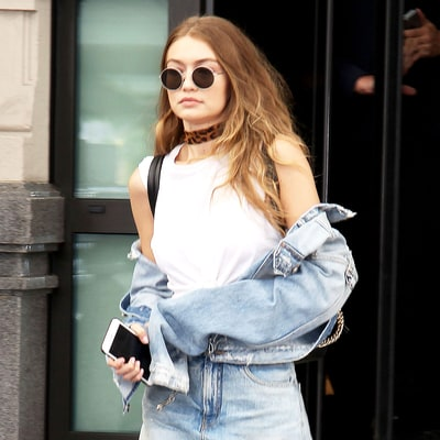 Gigi Hadid Wore a Denim Skirt, Pants and Jacket All at Once: Love It or Hate It?