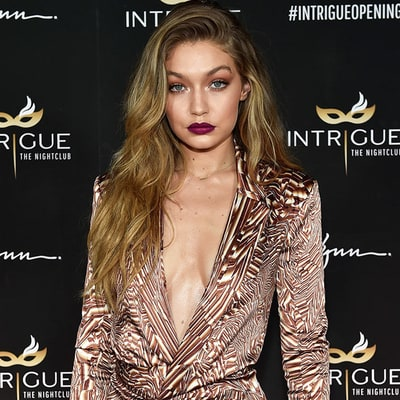 Gigi Hadid Celebrates 21st Birthday in Las Vegas: Photos