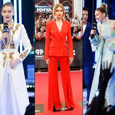 See All Six of Gigi Hadid's Outfits at Much Music Video Awards 2016
