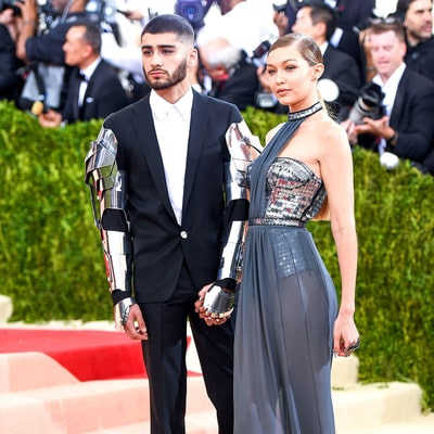 Gigi Hadid and Zayn Malik, Bella Hadid and The Weeknd Have a Double Date Night at Met Gala 2016